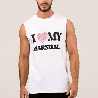 Amo a mi mariscal (el corazón hecho de palabras) camisetas sin mangas