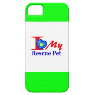 """Amo a mi mascota """"Heroes4Rescue """" del rescate iPhone 5 Cobertura"""