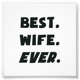 Amo a mi mejor esposa de los mundos nunca foto