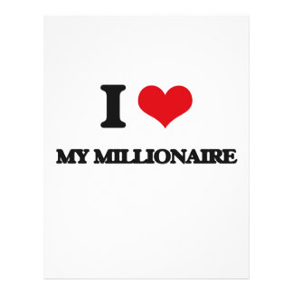 Amo a mi millonario tarjetas publicitarias