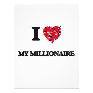Amo a mi millonario folleto 21,6 x 28 cm