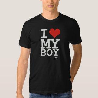 amo a mi muchacho camiseta