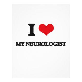 Amo a mi neurólogo tarjetones