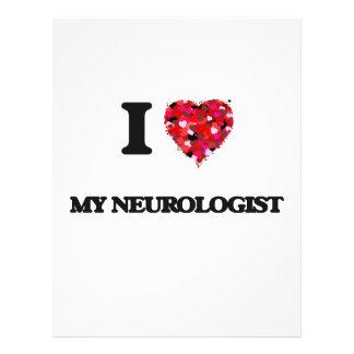 Amo a mi neurólogo folleto 21,6 x 28 cm