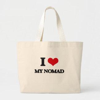 Amo a mi nómada bolsa