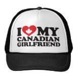 Amo a mi novia canadiense gorro