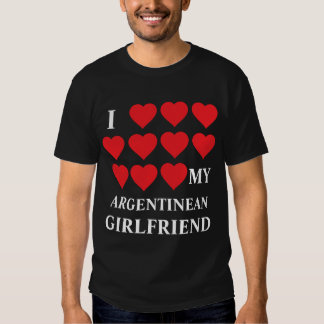 Amo a mi novio argentino camisas