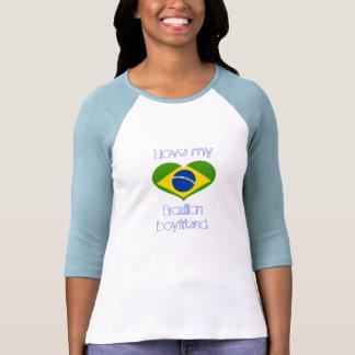 Amo a mi novio BRASILEÑO Camiseta