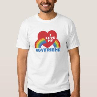 Amo a mi novio camiseta