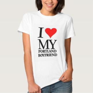 Amo a mi novio de Portland Camiseta