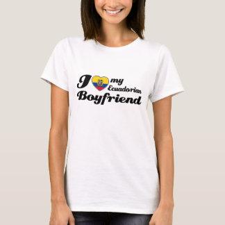 Amo a mi novio del Ecuadorian Camiseta