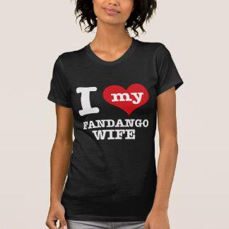 Amo a mi novio del fandango camiseta