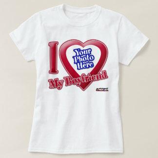 Amo a mi novio - foto camisetas