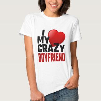 Amo a mi novio loco camisas