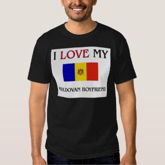 Amo a mi novio moldavo camisetas