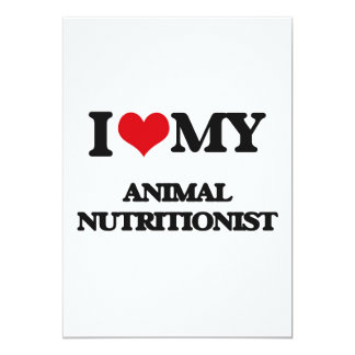 Amo a mi nutricionista animal anuncios personalizados