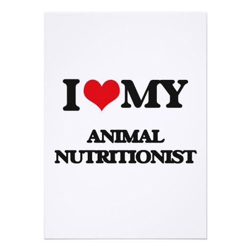 Amo a mi nutricionista animal comunicados