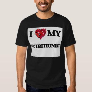 Amo a mi nutricionista camiseta