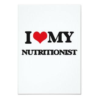 Amo a mi nutricionista invitacion personal