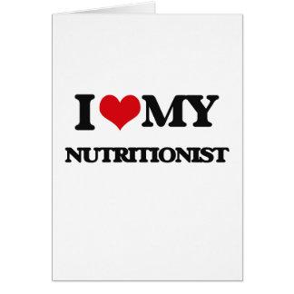 Amo a mi nutricionista felicitaciones