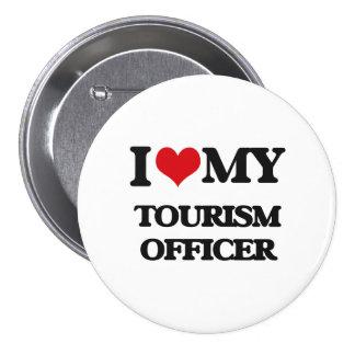 Amo a mi oficial del turismo pins