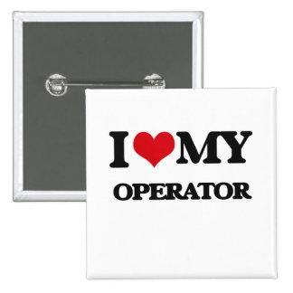 Amo a mi operador pin
