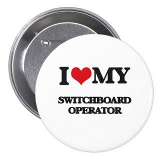 Amo a mi operador de centralita telefónica pin