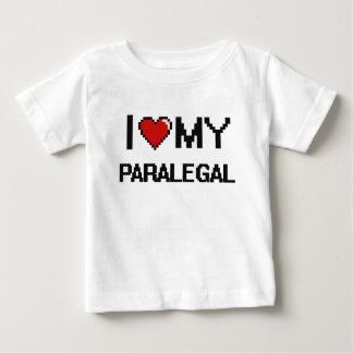 Amo a mi Paralegal Camiseta