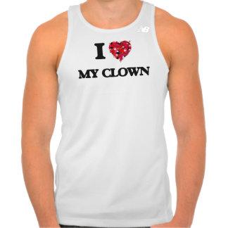 Amo a mi payaso camiseta