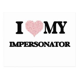 Amo a mi personificador (el corazón hecho de postal