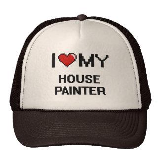 Amo a mi pintor de casa gorras de camionero