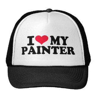 Amo a mi pintor gorros