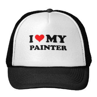 Amo a mi pintor gorras