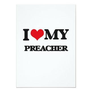 Amo a mi predicador invitación 12,7 x 17,8 cm