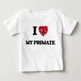 Amo a mi primate camiseta