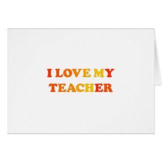 Amo a mi profesor felicitacion
