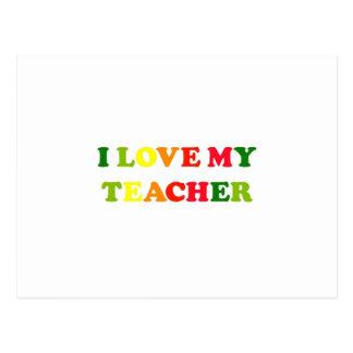 Amo a mi profesor postal