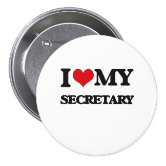 Amo a mi secretaria pin