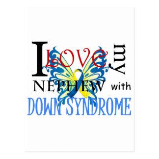 Amo a mi sobrino con Síndrome de Down Postal