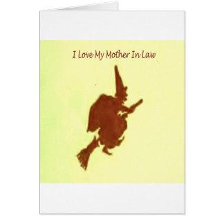 Amo a mi suegra tarjeta