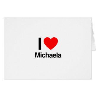 amo a Micaela Felicitaciones