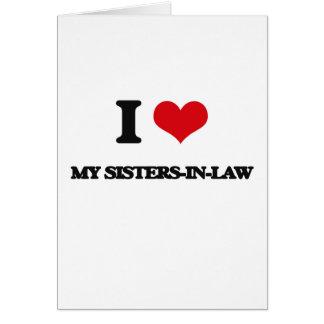 Amo a mis cuñadas