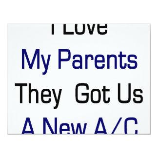 Amo a mis padres que nos consiguieron una nueva CA Comunicado