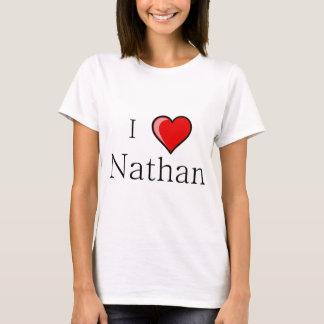 Amo a Nathan Camiseta