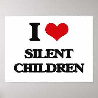 Amo a niños silenciosos