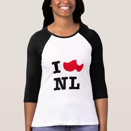 Amo a NL, yo amo Holanda Camiseta