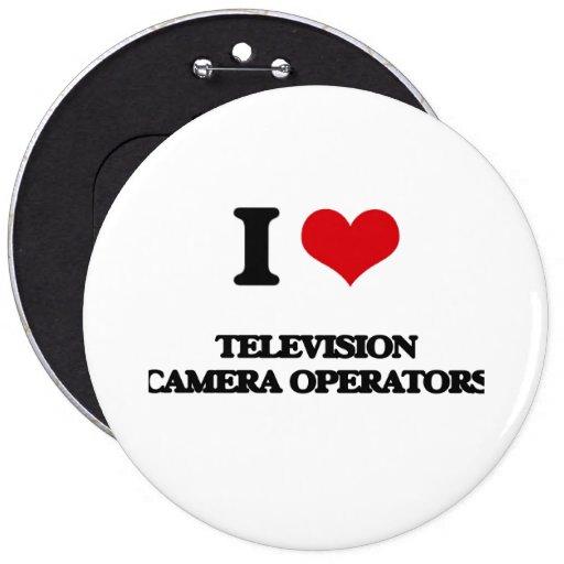 Amo a operadores de la cámara de televisión