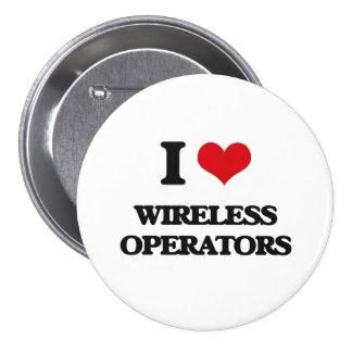 Amo a operadores inalámbricos pin