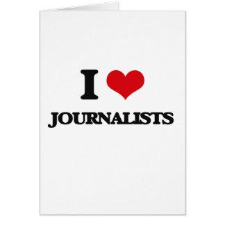 Amo a periodistas tarjeton
