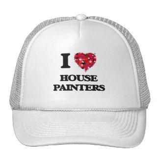 Amo a pintores de casa gorra